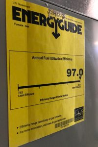 AFUE Furnace Rating